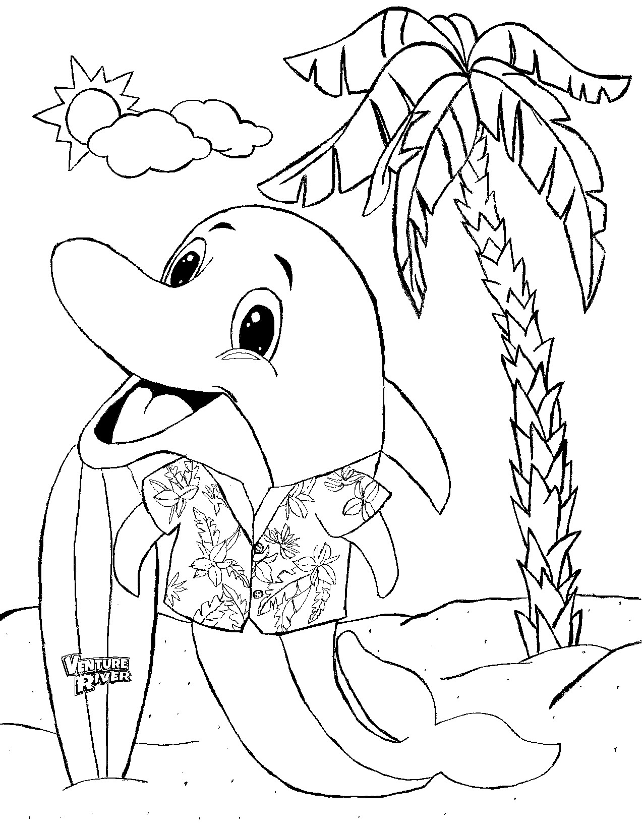 water park coloring pages - photo#22